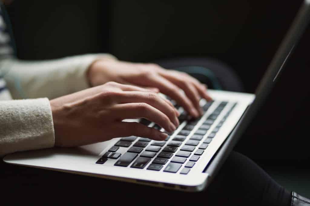 Writing on a MAC