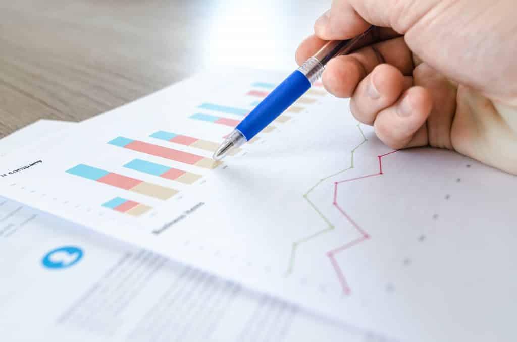 Data chart values